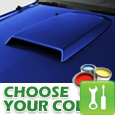 2005-2009 Mustang Hood Scoop - Painted - Installation Instructions