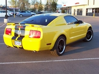 2005 Bumble Bee Yellow Mustang V6- Ian Olson  '05