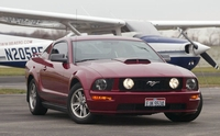 "2005 Dark Redfire Mustang V6 - Keith ""Hound Dog"" '05"