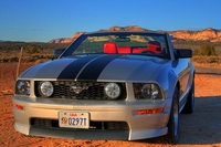 2005 Mineral Gray Mustang GT Convertible - Ross Hartill '05