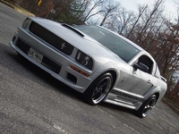 2005 Satin Silver Ford Mustang V6 Pictures - Mark '05