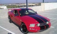 2005 Torch Red Mustang GT - Sonny Mand '05