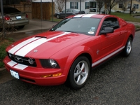 2005 Torch Red Mustang V6 - Glenn Norwood '05