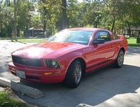 2005 Torch Red Mustang V6 Premium - Jonathan Horvat '05