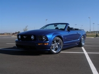 2006 Mustang GT Convertible Vista Blue