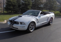2006 Performance White Mustang V6 Convertible - Johnny Booth '06