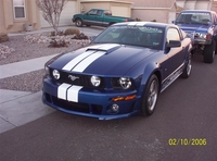 2006 Sapphire Blue Roush Stage 2 Mustang Pictures- Javier Garza '06