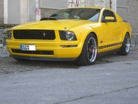 2006 Screaming Yellow Mustang V6 - Oliver Haas '06