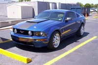 2006 Vista Metallic Blue Mustang GT