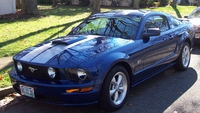 2007 Blue Mustang GT - Theresa Dyson '07