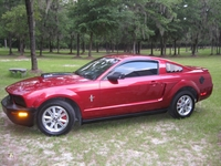 2007 Candy Apple Red Mustang V6 - Warren Wood '07
