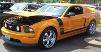 2007 Grabber Orange Mustang GT w/ Boss Stripe Package - Sandy Schneider '07