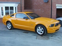 2007 Orange Yellow Ford Mustang GT