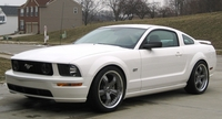 2007 Performance White Mustang GT Coupe - Andrew Lutsch '07
