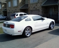 2007 Performance White Mustang GT - KenD '07
