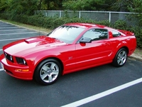 2007 Red Mustang GT - Bill Bailey '07