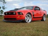 2007 Red Mustang GT - Dave Arbore