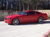 2007 Torch Red Mustang GT - Anne-Marie Stowe '07