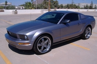 2007 Tungsten Gray Mustang V6 - Michael Price '07