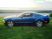 2007 Vista Blue Mustang GT - Dennis Brown '07