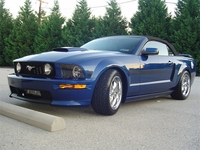 2008 Sonic Blue Mustang California Special GT - Ed Naill '08