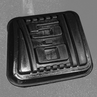 5.0 Clutch Pedal Cover - Manual (79-93 All)