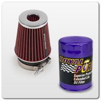 79-93 Mustang Air, Oil and Fuel Filters