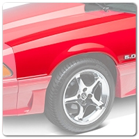 79-93 Mustang Bumpers, Fenders and Panels