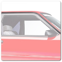 79-93 Mustang Exterior Trim, Molding and Hardware