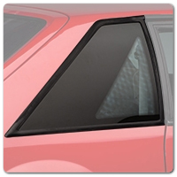79-93 Mustang Replacement Glass and Molding