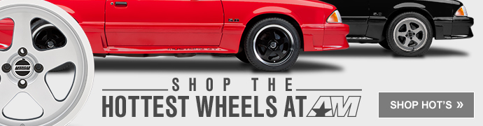 79-93 Mustang 4-lug Wheels