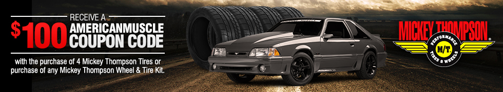 79-93 Mustang Mickey Thompson Wheel & Tire Packages