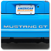 94-98 Mustang Bumper Inserts