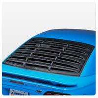 94-98 Mustang Rear Window Louvers