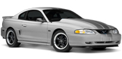 94-98 Mustang Quarter Window Louvers & Scoops