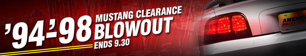 94-98 Mustang Clearance Blowout