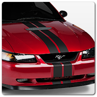 99-04 Mustang Decals, Stripes & Graphics