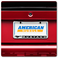 99-04 Mustang License Plates & License Plate Frames