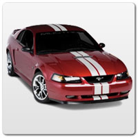 99-04 Mustang Racing Stripes