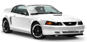 99-04 Mustang Quarter Window Louvers & Scoops