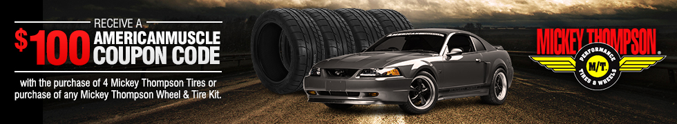 99-04 Mustang Mickey Thompson Wheel & Tire Packages