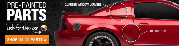 99-04 Mustang Exterior Styling