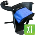AFE Stage 2 Cold Air Intake Kit ('05-'09 Mustang V6) - Installation Instructions