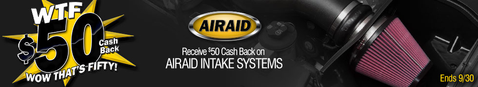 Airaid Cold Air Intakes