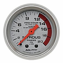 Auto Meter Pro-Comp Ultra-Lite Nitrous Pressure Gauge - Mechanical (79-14 All)