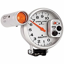 Auto Meter Sport Comp 5 in. Tachometer w/ Shift Light (79-14 All)