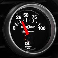 Auto Meter Sport Comp II Oil Pressure Gauge - Electric (79-14 All)