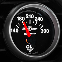 Auto Meter Sport Comp II Oil Temp Gauge - Electric (79-14 All)