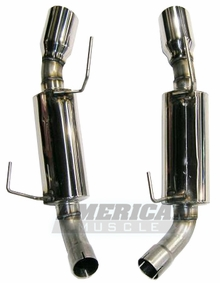 Bassani Axle-Back Exhaust (05-09 GT, 07-09 GT500)