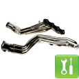 BBK Chrome Long Tube Headers ('96-'04 GT) - Installation Instructions